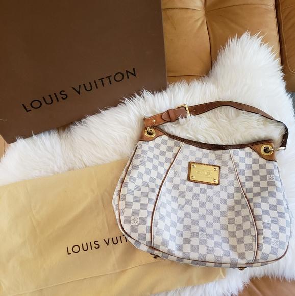 Louis Vuitton Damier Azur Galliera